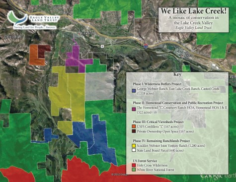 We Like Lake Creek Map
