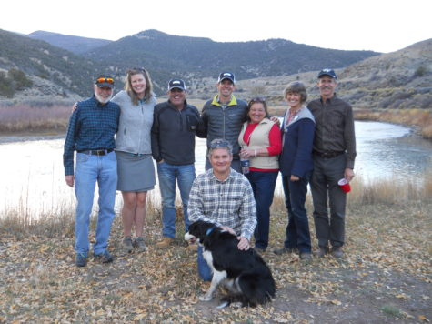 A team effort, including Eagle Valley Land Trust, Eagle County Open Space, American Rivers, and The Gates Family Foundation
